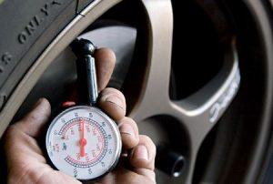 Summer Maintenance - check tire pressure