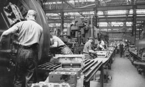Factory historic picture